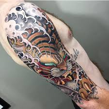 japanese tiger by stu pagdin of house of daggers south australia