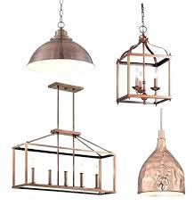 Copper Pendant Lights Copper Pendant Lighting S Ing Copper Hanging Ls Shygirl Me