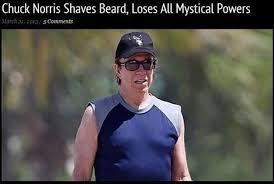 Chuck Norris Beard Meme - epic pix like 9gag just funny chuck norris shaves beard