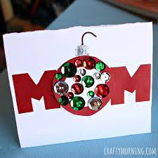 christmas cards to mom chrismast cards ideas