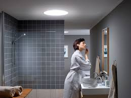 no window in your bathroom get natural daylight floating into