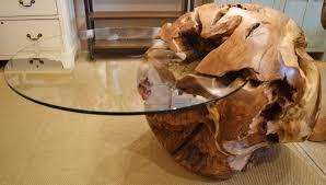 coffee table cool tree trunk coffee table ideas tree trunk side