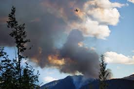 Wildfire Kootenays by Harrop Fire Update Crews Withdraw For Safety Reasons Nelson Star