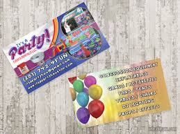 Event Business Cards Card It U0027s A Party Event Rentals