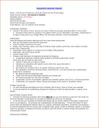 latest resume format for experienced latest type of resume firefighter resume templates saneme proper