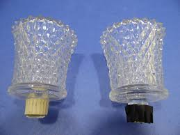 home interiors candle cup votive tealight set of 2 homco clear