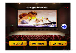 film comedy quiz film genres quiz worksheet free esl projectable worksheets made by
