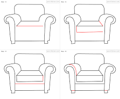 Armchair For Kids Chair Drawing For Kids