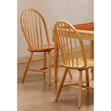 Oak Spindle Back Dining Chairs Lainie Finish Spindle Back Dining Chairs Set Of 4