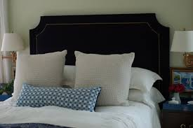 king upholstered headboard with nailhead trim bedroom luxury diy upholstered headboard with nailhead trim