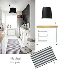 Black And White Striped Kitchen Rug Black And White Kitchen Rug Mydts520