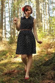target black polka dot dress all pictures top