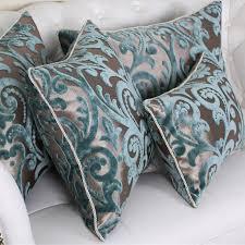 coussin de luxe pour canapé modren 45 60 flocage oreiller de luxe plaid élégant fleur home