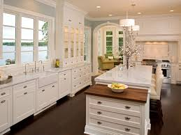 Kitchens With White Cabinets by Modern Kitchen All White Cabinets With Alots Racs For Multi