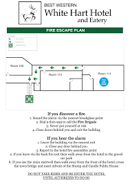 Fire Evacuation Route Plan by Providing Fire Exit Signage For The Services Industry
