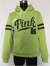 women hoodies autumn sportswear love pink letter print cotton