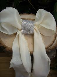 diy chair sashes diamond mesh chair sash bands