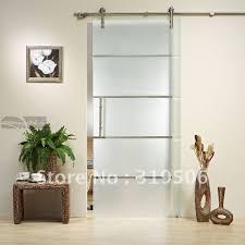 top glass barn doors interior in stunning home interior design p82