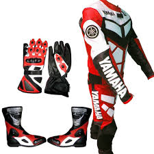 cheap motorbike clothing arrow yamaha racing leather motor bike motorcycle suit all size