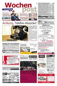 die wochenpost u2013 kw 44 by sdz medien issuu