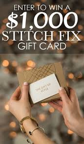1000 gift card the best gift for your best friend 1 000 stitch fix gift card