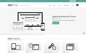 bootstrap themes header download appstrap responsive website template v2 5 3 bootstrap