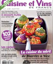 cuisine et vins de recette cuisine et vins n 164 juin juillet août 2015 domaine tempier