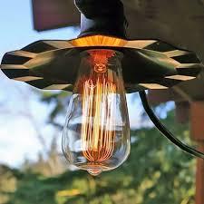 Edison Bulb String Lights Cafe String Lights Vintage Edison Bulbs 35 Ft Black Wire Copper
