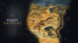 Fallout 3 Full Map Assassin U0027s Creed Origins Reveals Its Full Map Which Dwarfs Past