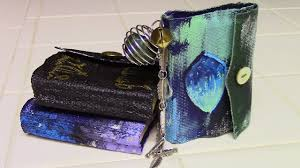 diy mini spell book witchy crafting youtube