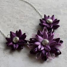 Plum Wedding Deep Purple Necklace Plum Necklace Plum Wedding Deep Purple