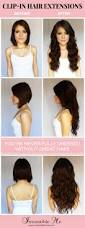 Clip Hair Extensions Australia by Top 25 Best Clip In Hair Extensions Ideas On Pinterest