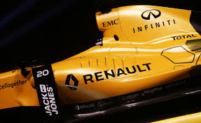renault yellow renault give the grid some colour f1 colours