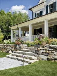 Front Steps Design Ideas Porch Stone Slab Steps Design Ideas Pictures Remodel And Decor
