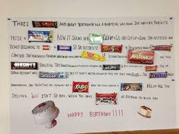 candy for birthdays 12 best candy bar poem images on candy bar poems