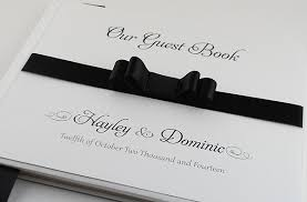 black guest book luxury wedding guest books wedding invitation boutique
