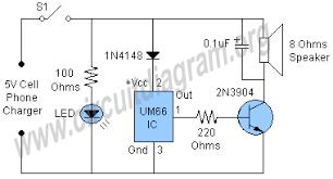 mains operated doorbell circuit diagram