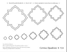 cornice cornice traceable heraldic art