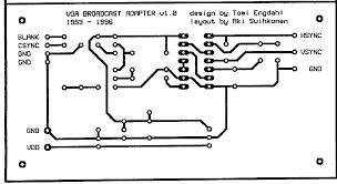 Wiring Diagram Power Supply Also Converter Circuit On Vga To Tv Converter