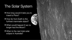 Our solar system space