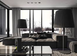 cool home interiors a single family home interior in cool shades of gray