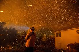 Wildfires Burning In Washington State by Surreal Scenes Of The Blazing Wildfire In Washington State The