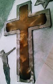 crucifix wall decor steel cross wall decor metal crucifix wall decor large metal