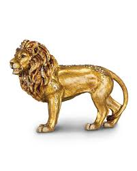 lion figurine strongwater lion figurine