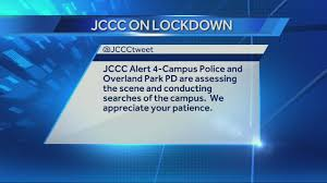 Jccc Map Images Report Of Person With Gun Locks Down Jccc