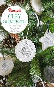sted clay ornaments w clay recipe