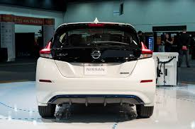 nissan leaf yearly electric cost 2018 nissan leaf first drive review motor trend
