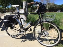jeep wrangler mountain bike ebo cruiser electric bike kit installed on a klein full suspension