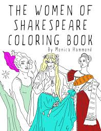 women of shakespeare coloring book coloring book
