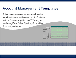 key account template account management templates powerpoint